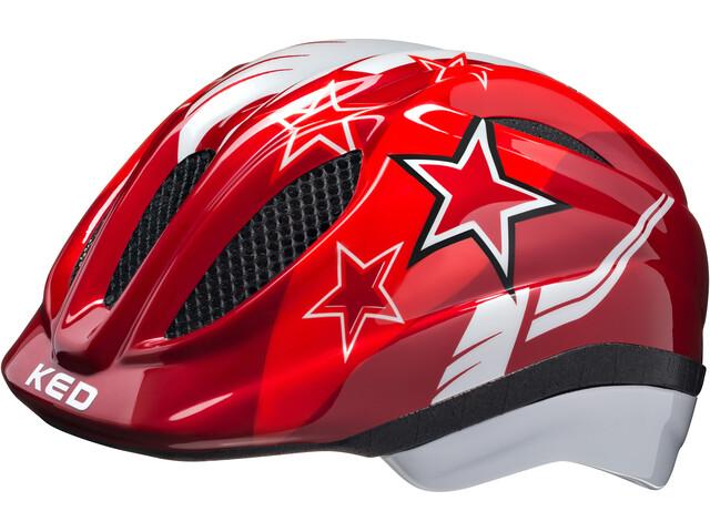 KED Meggy Cykelhjälm Barn röd - till fenomenalt pris på Bikester 106f5c45b41d5